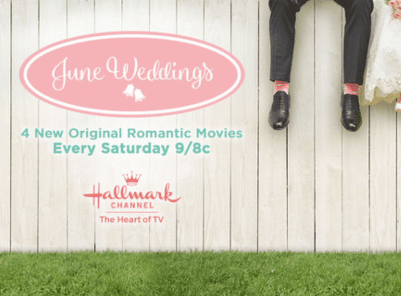 HALLMARK CHANNEL JUNE WEDDINGS