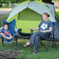 A Backyard Camping Trip - The Best Way To Introduce Kids to the Camping Experience!