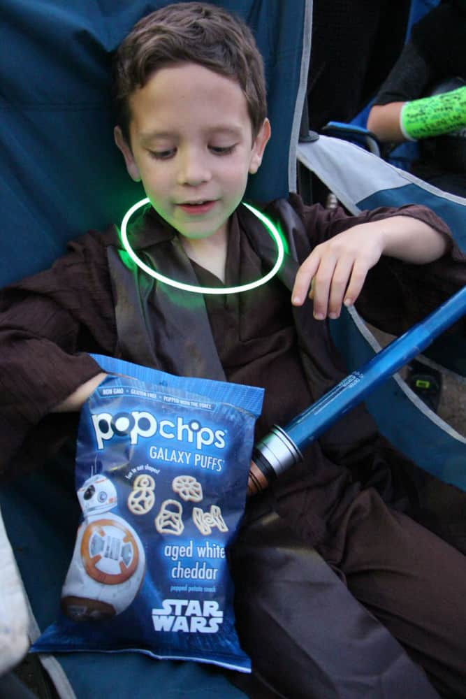star wars costume party popchips