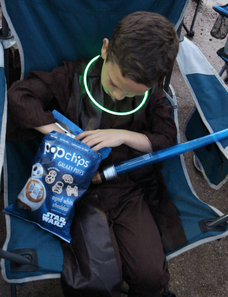 star wars movie night popchips