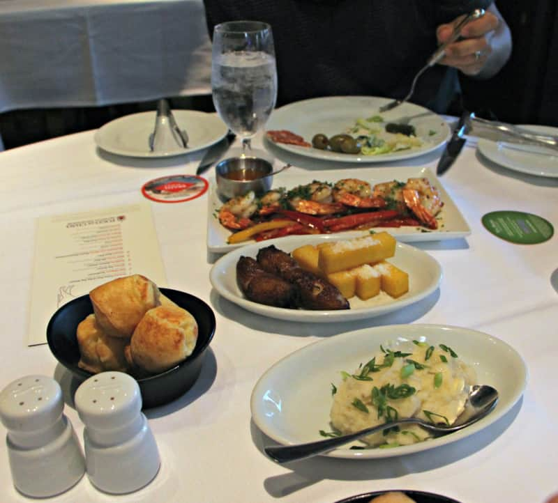 Fogo de Chão side dishes