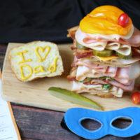 Super Hero Sandwich
