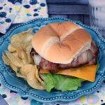 Vidalia Onion Bacon Cheeseburger – Perfect On The Grill!