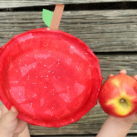 Tissue Paper Apple Craft for Kids - Perfect for Back to School or Fall!