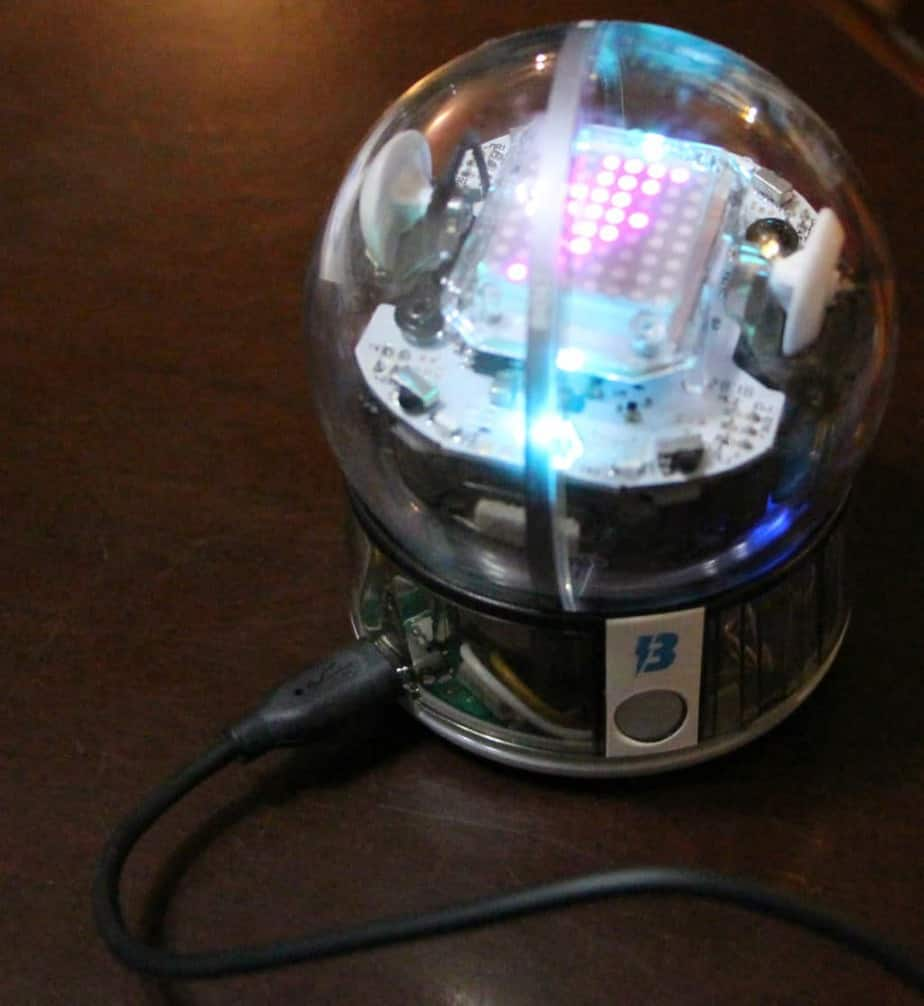 sphero bolt charging