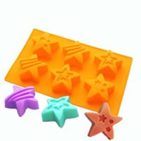 X-Haibei Super Rock Star Soap Making Silicone Mold Chocolate Jello Cake Ice Cream Pan
