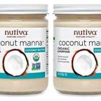 Nutiva Organic Coconut Manna from Fresh, non-GMO, Sustainably Farmed Coconuts, 15-ounce (Pack of 2)