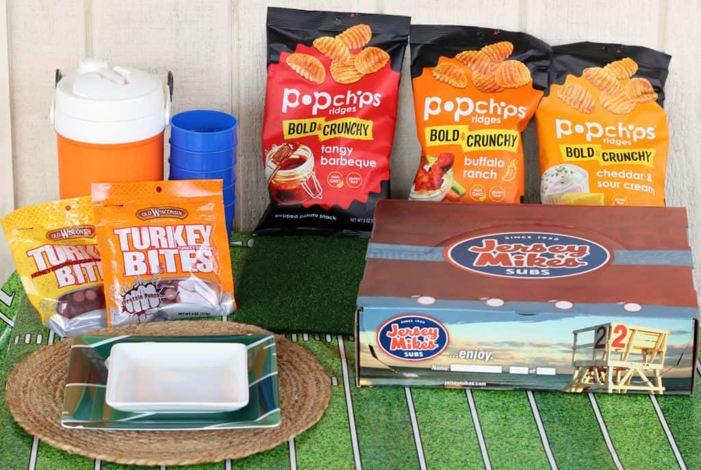 babble boxx football game food