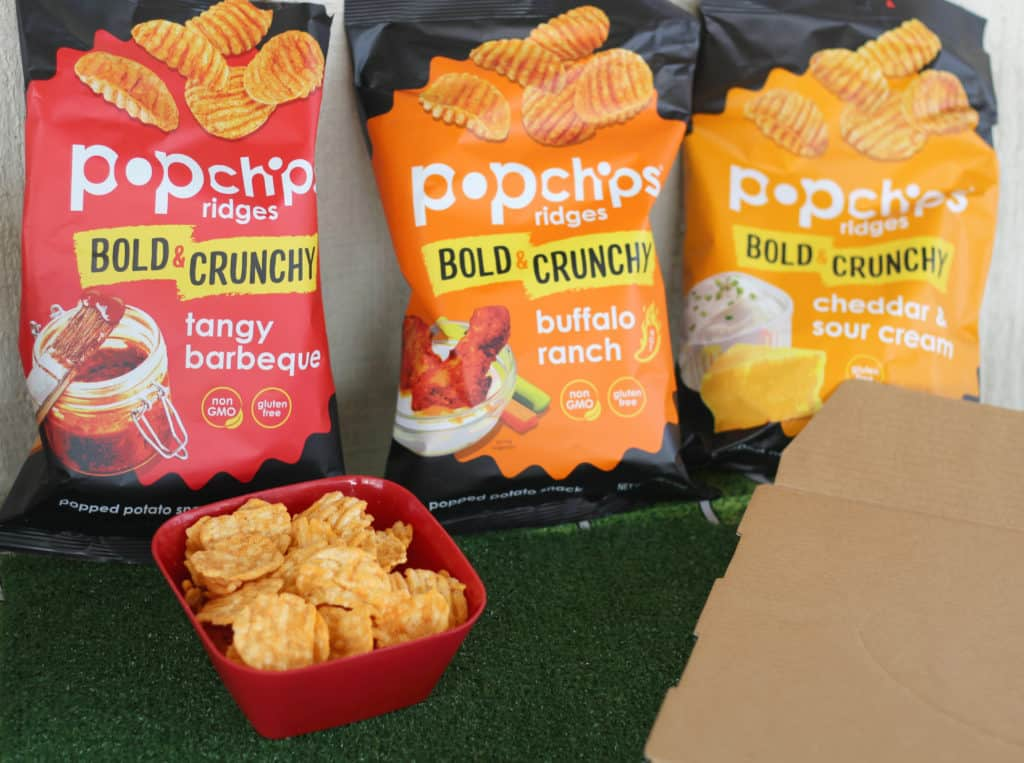 popchips football game food