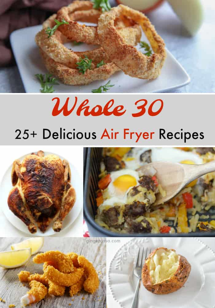 whole 30 air fryer recipes
