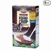 Envirokidz Organic Gluten Free Cereal, Chocolate Koala Crisp, 11.5 Ounce Box (Pack of 6)