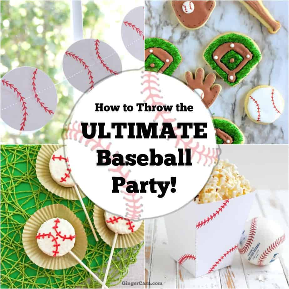 ultimate baseball party