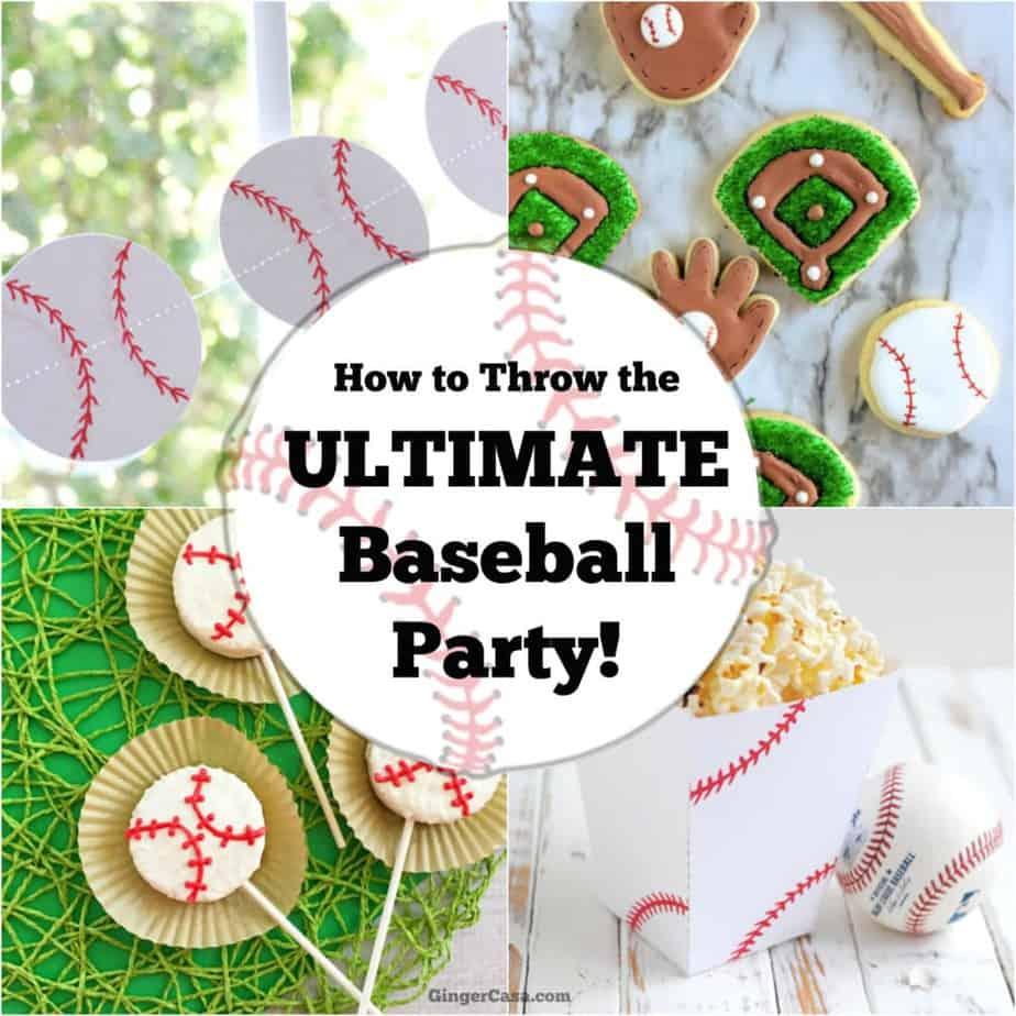 ultimate baseball party