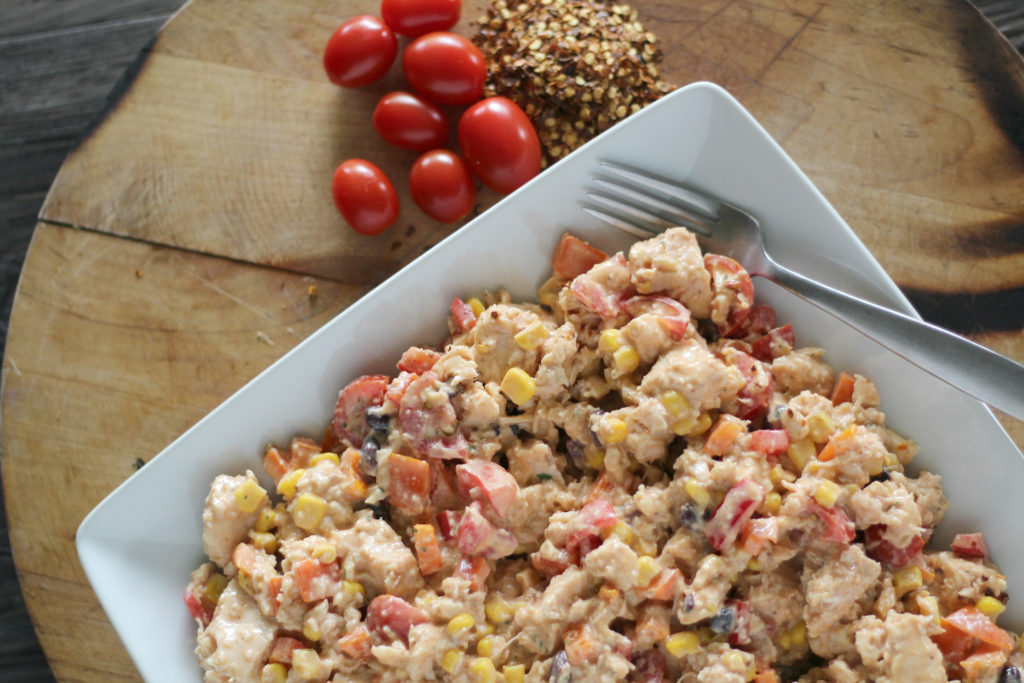 spicy southwestern chicken salad