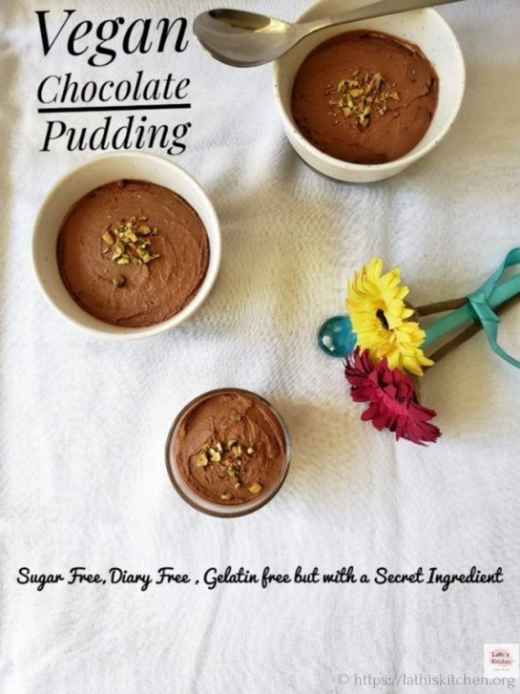 Vegan Chocolate Pudding – Sugar & Gelatin Free