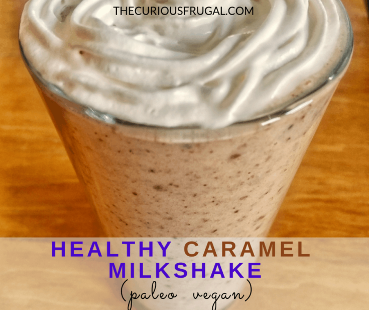 Healthy Caramel Milkshake Recipe
