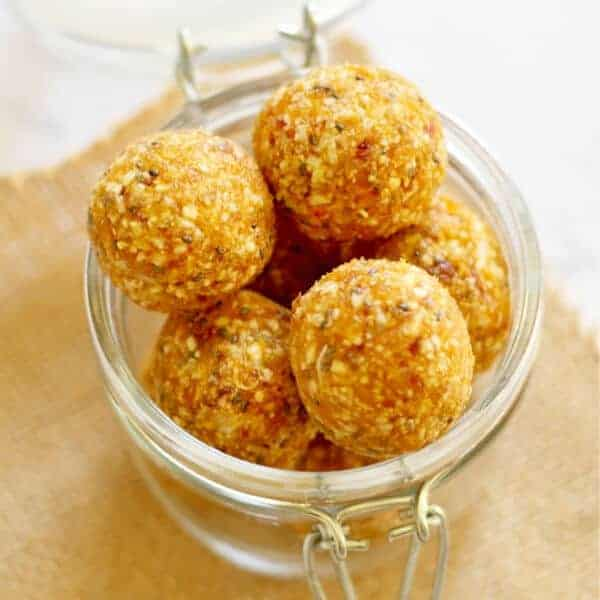 No Bake Apricot Coconut Energy Bites Recipe | Cook It Real Good