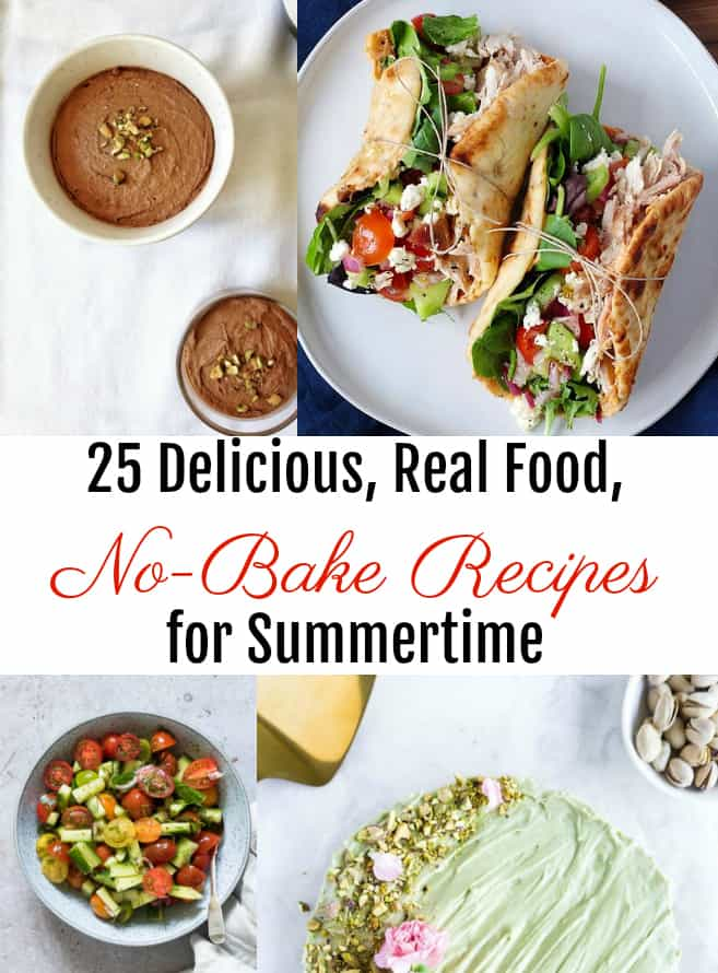 real food no-bake recipes