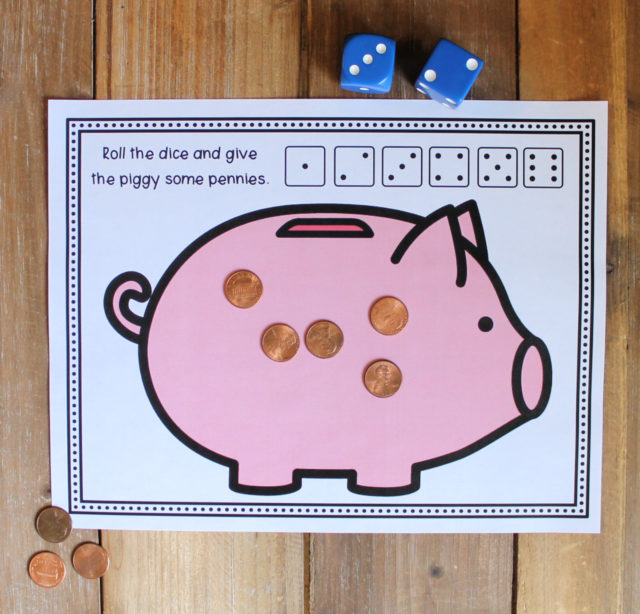 feed the piggy bank