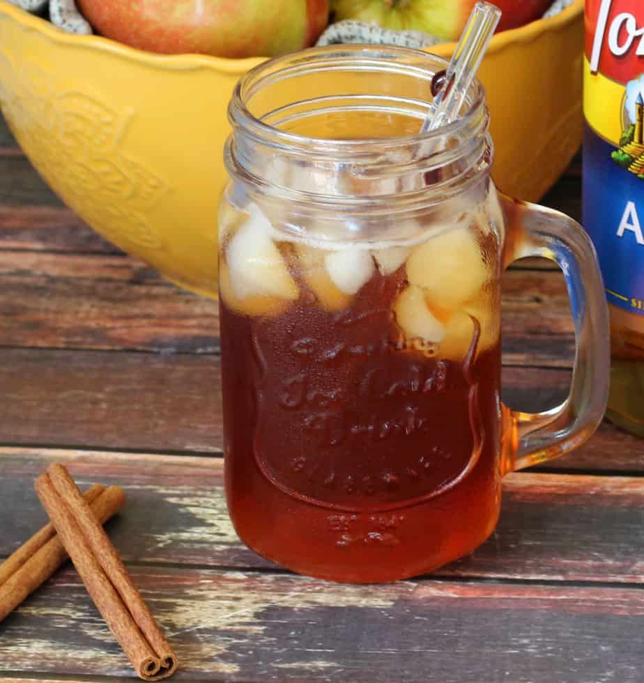 spiced apple iced tea