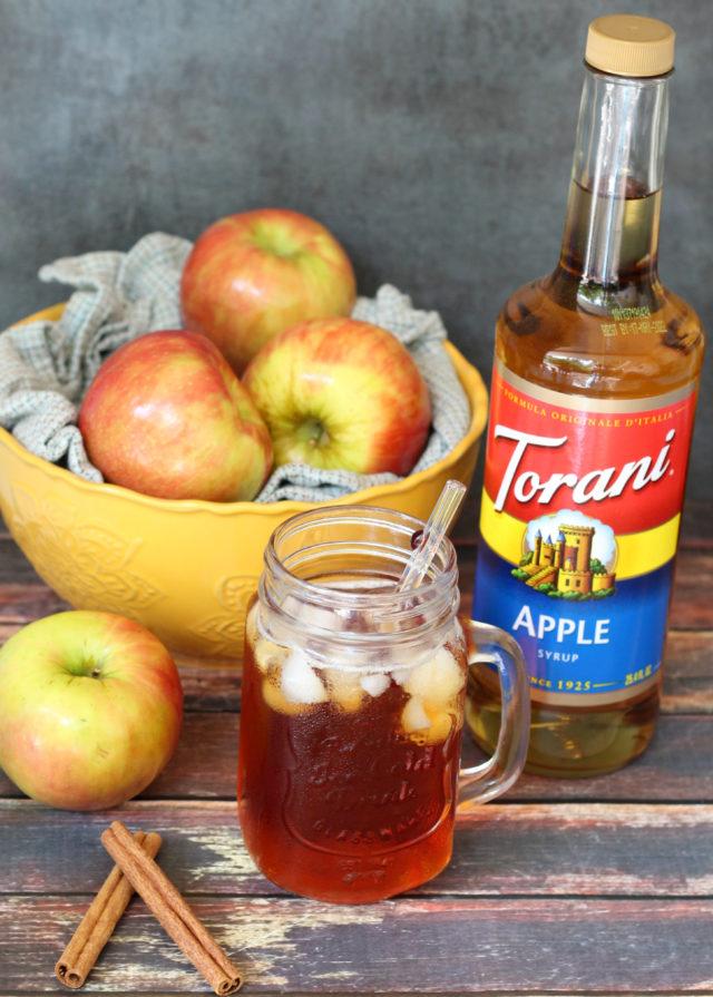 spiced apple iced tea