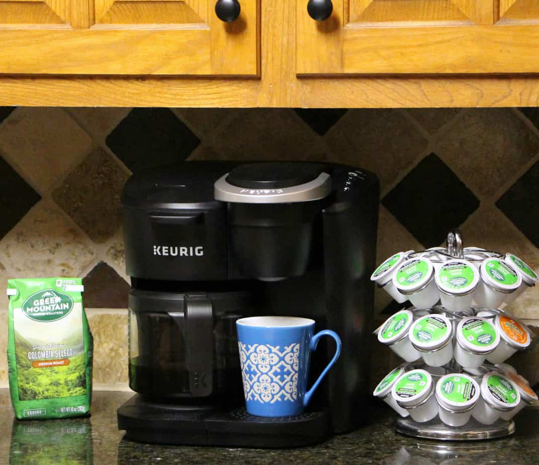 Pumpkin Pie Granola and the Keurig® K-Duo Essentials Single Serve & Carafe Coffee Maker