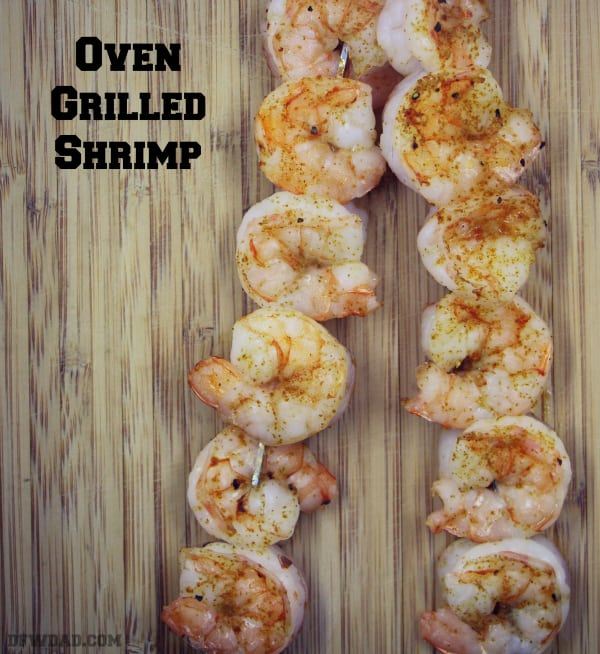 Oven Grilled Shrimp – Perfect for a Valentine's Date