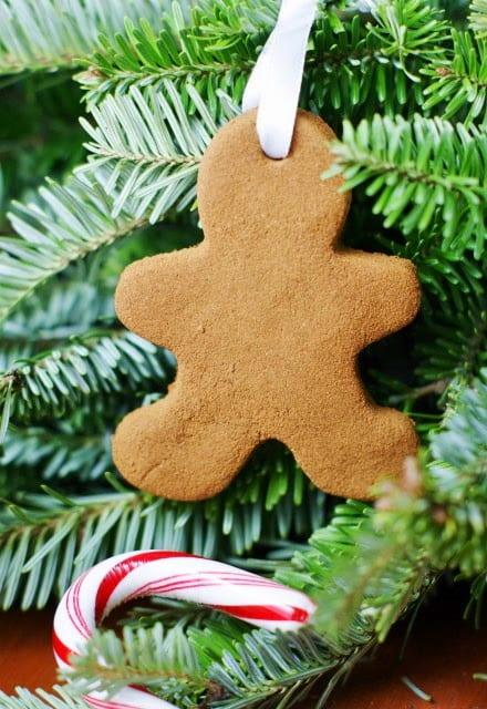 Easy 3-Ingredient Cinnamon Ornaments