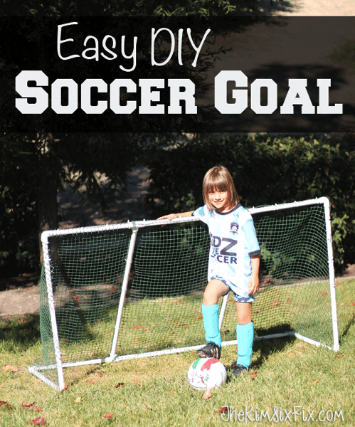 Get Out and Play: Easy DIY PVC Goal