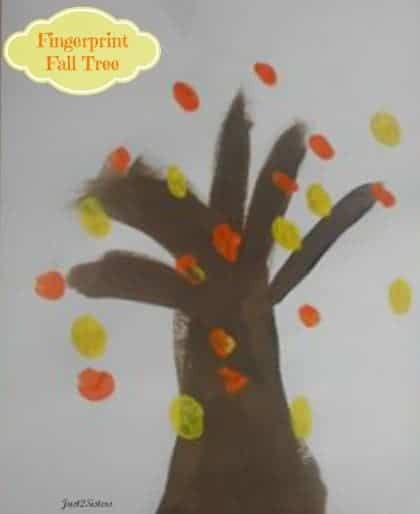 Fingerprint Fall Tree