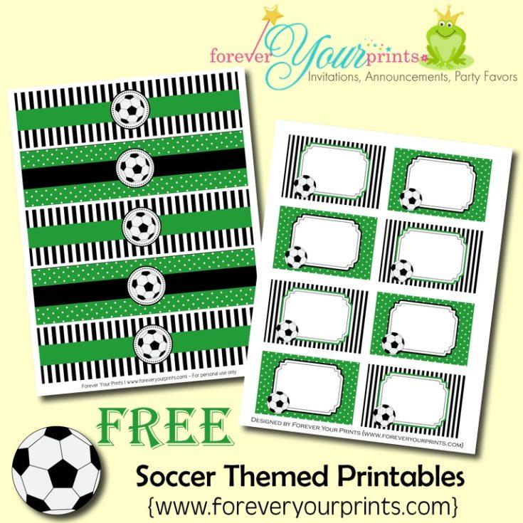 FREE Soccer Theme Printables