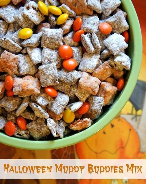 Spooky Snacks: Halloween Muddy Buddies Party Mix