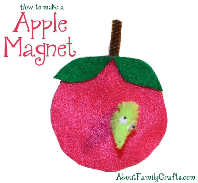 Apple Magnet Craft