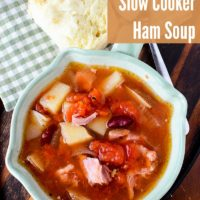 Slow Cooker Ham Soup - Perfect Way to Use Leftover Ham