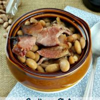 Southern Style Ham and Beans Recipe (Great For Left Over Ham)