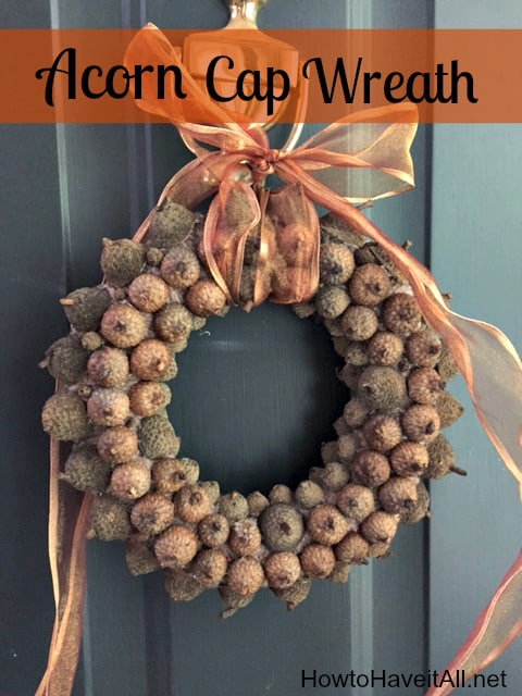 Acorn Cap Wreath Decoration