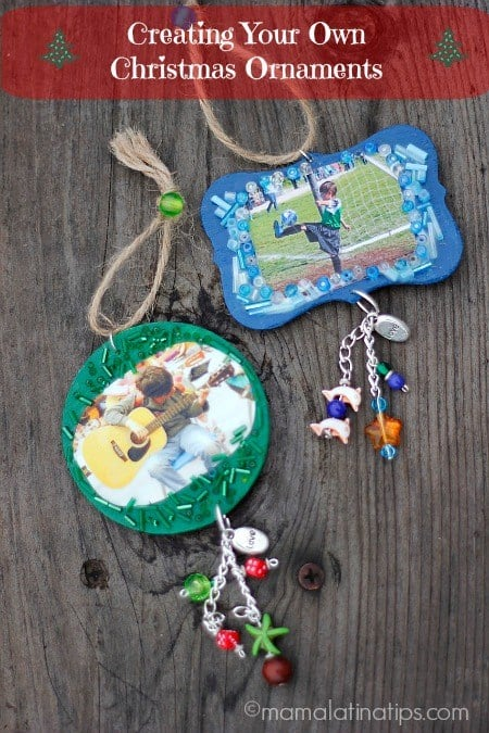 Creating Your Own Christmas Ornaments DIY