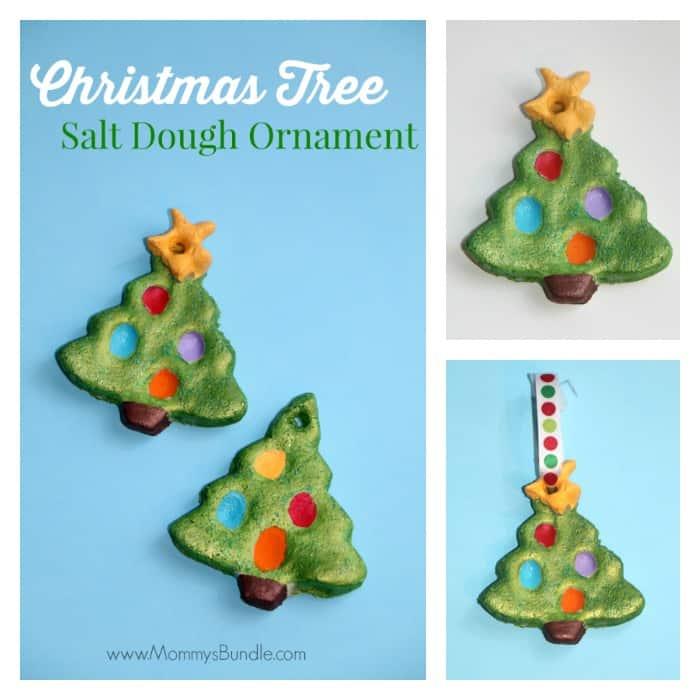 Fingerprint Christmas Tree & Salt Dough Ornament