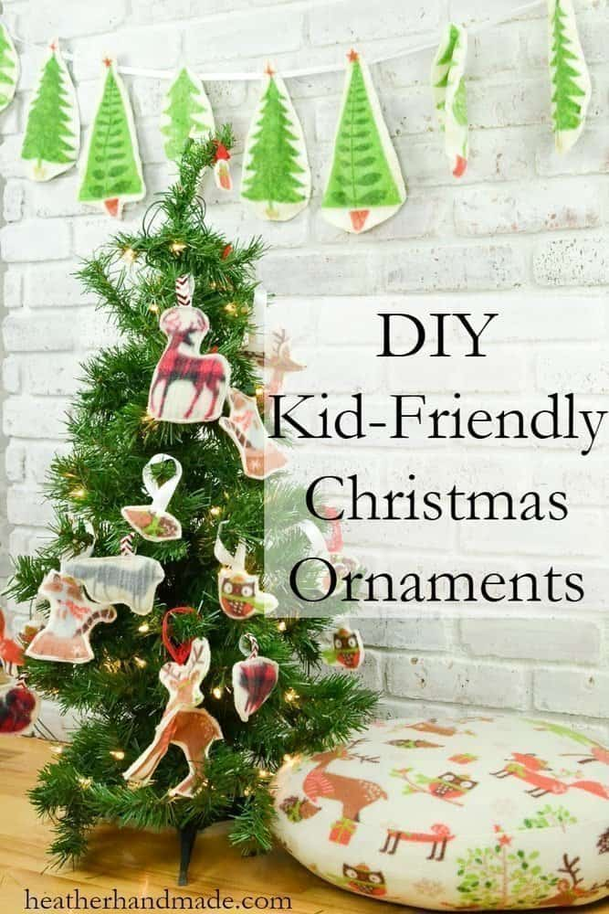 DIY Kid-Friendly Christmas Ornaments