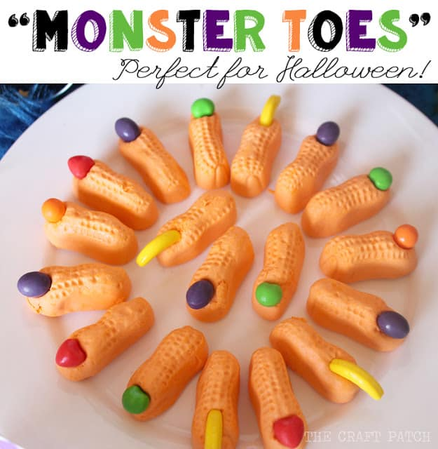 Candy Monster Toes
