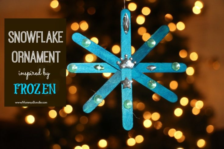 Snowflake Ornament Inspired by Frozen