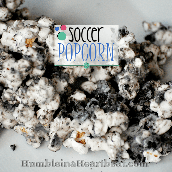 World Cup Fever: Soccer Popcorn