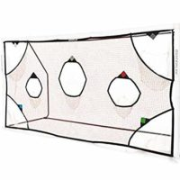 QuickPlay PRO Soccer Goal Target Nets with 7 Scoring Zones and Practice Shooting and Goal Shots.