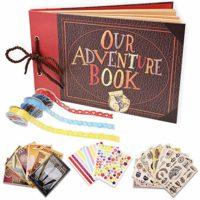 Our Adventure Book Scrapbook Photo Album