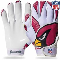 Franklin Sports NFL Team Licensed Youth Football Receiver Gloves