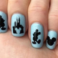 Disney Mickey Mouse Nail Stickers - Adult & Child Sizes! Great Fish Extender Gift!