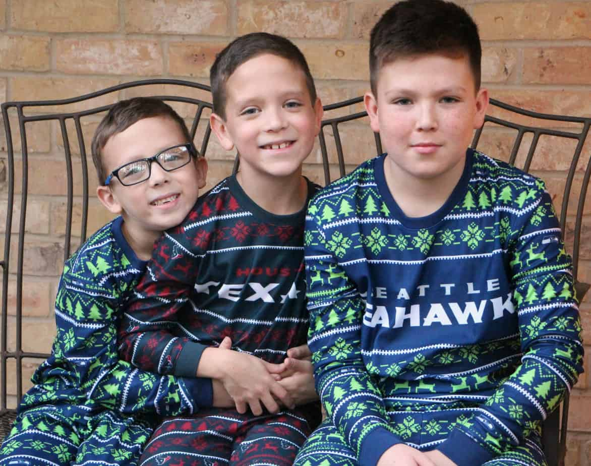 nfl ugly pajamas for the family