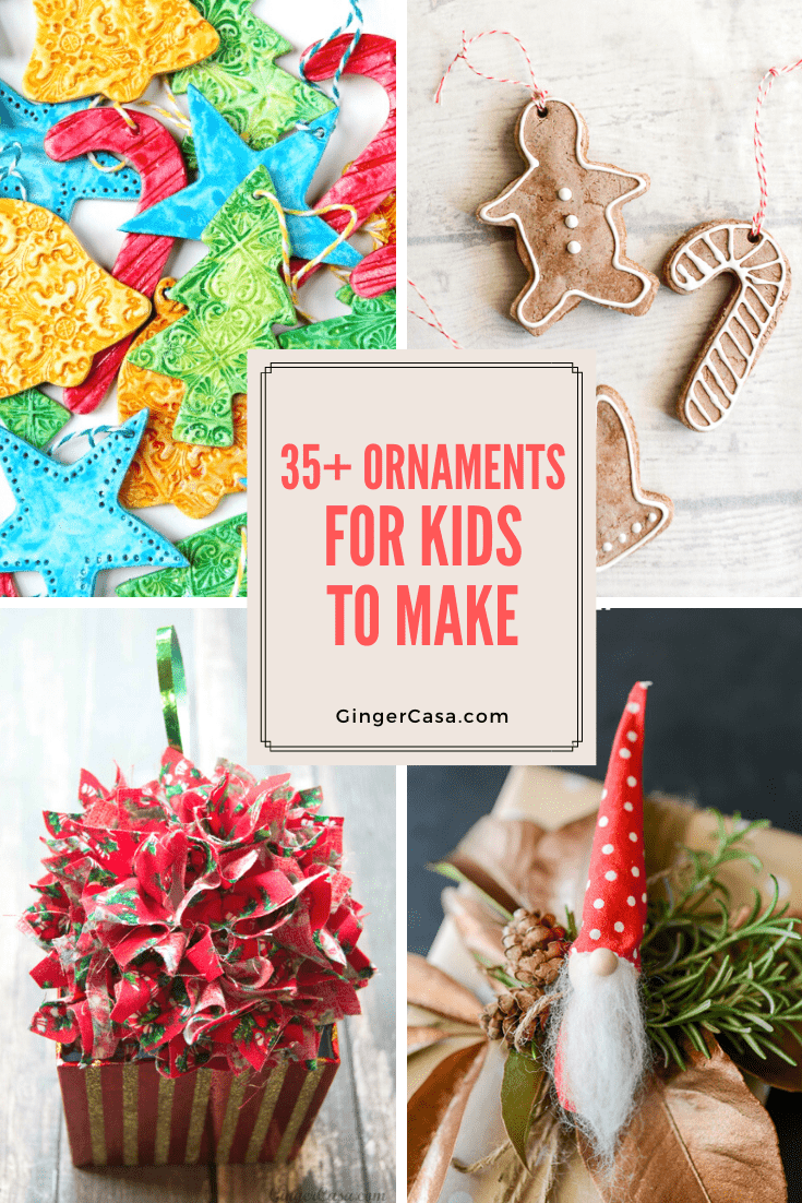 what are some ornaments for kids to make?