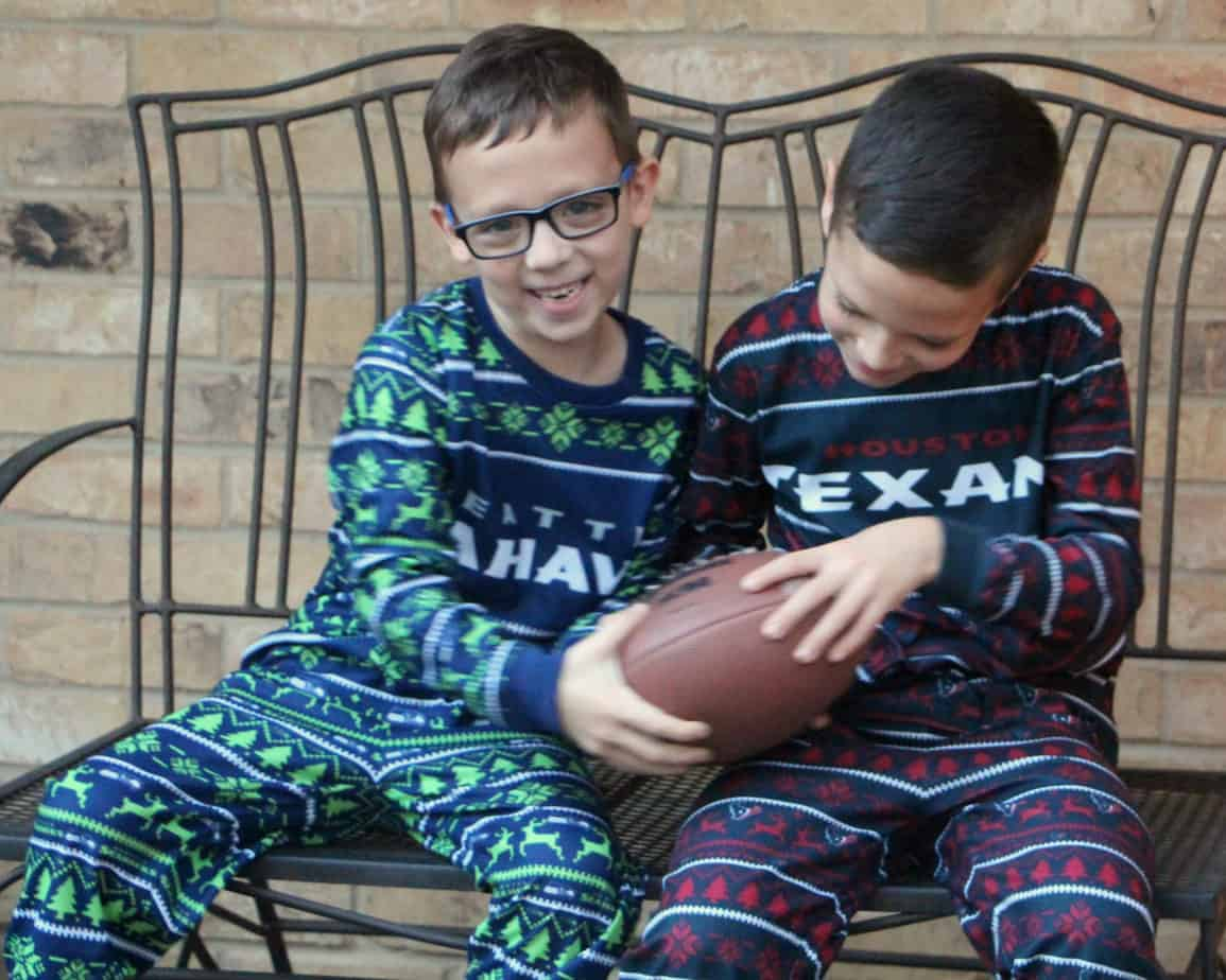 ugly nfl pajamas for kids
