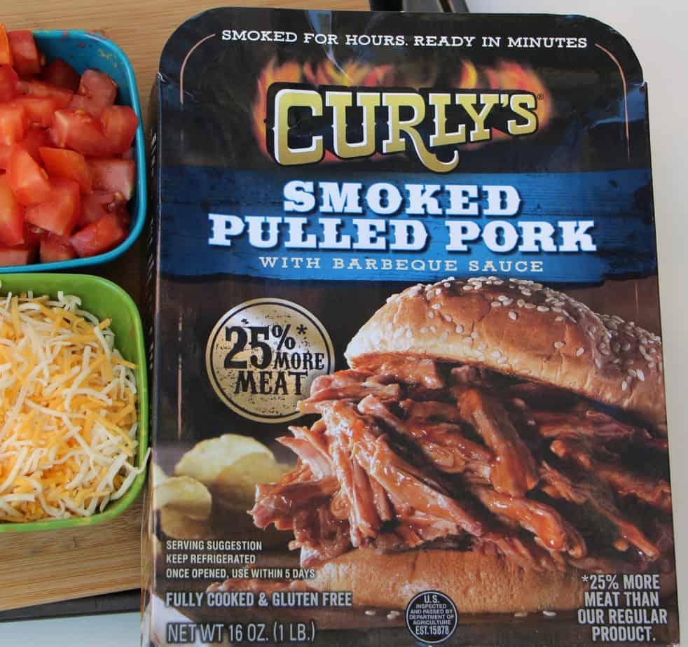sheet pan nachos curly's smoked pulled pork
